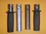 1+2 D6A spring type with flange 3+4 D6 no-spring type, no flange