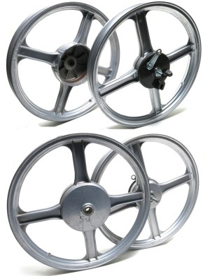 Piaggio 16 inch 4-star wheels