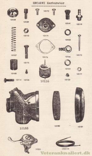 Encarwi Karburator from 1960's