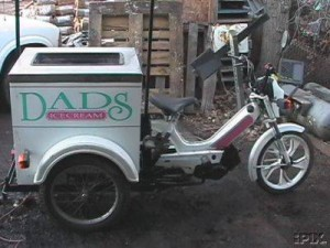 1992 Tomos Ice Cream Trike