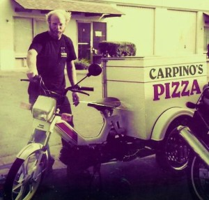 1993 Tomos pizza trike