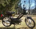 2009 Tomos Sprint black