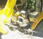 Honda 1977-80 NC50 carb installed