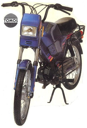 1990 Tomos Bullet TT kick