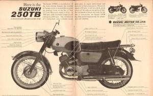 1962 Suzuki 250TB