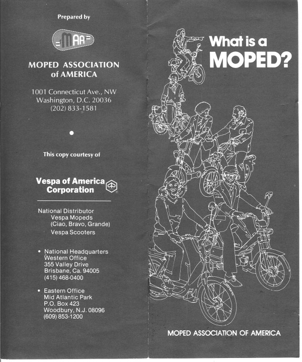 1978 MAA Flyer Cover
