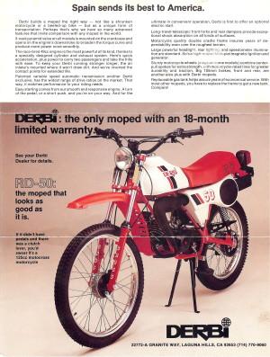 Derbi 1984 RD50