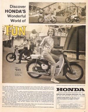 Honda 1962 Life Magazine Ad