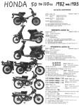 Honda 1982-83 B