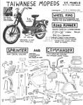 Taiwan mopeds