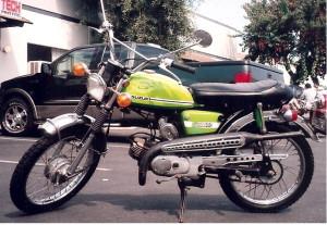 Suzuki AS50 Maverick 62mph