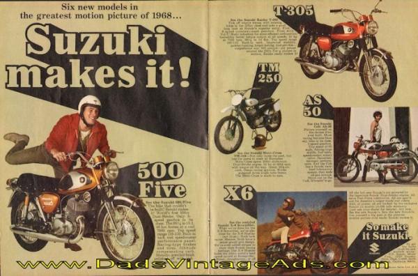 Suzuki 1968 Ad