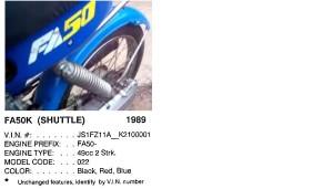 1989-90 Suzuki FA50