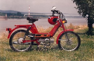 1980s KKM Mopet