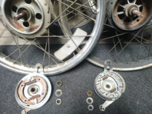 Columbia Brakes Swapped