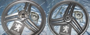 Grimeca Peugeot 103SPX rear wheel