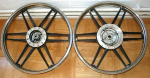 Leleu 17 inch mags for Honda Hobbit