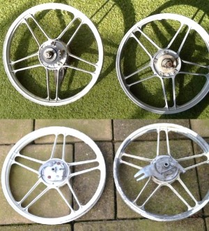 Puch 5-star wheels