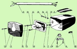 Jawa 207 Parts Diagram 16a