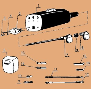 Jawa 207 Parts Diagram 17