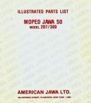 Jawa Parts List Model 207.300