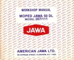 Jawa Service Manual Model 207.111