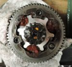 Puch 2-speed shift cushions decomposed