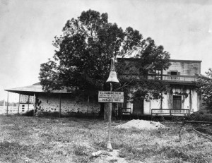 1853 Pio Pico adobe in 1910