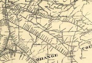 1912 Los Angeles Railway Map portion